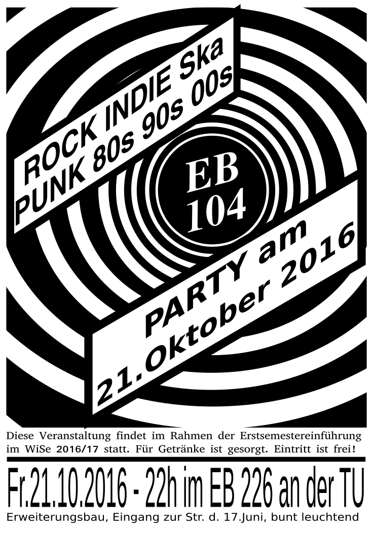 ESE-Party am 2.10.2016